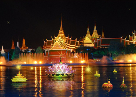 Loy Krathong and Yi Peng Festival 2013