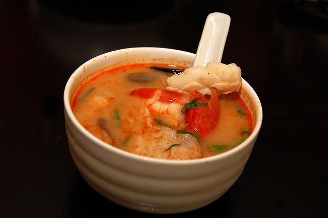 Tom Yam Goong Soup