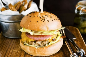 Best Burgers in Bangkok - Firehouse Honest-to-Goodness Burger