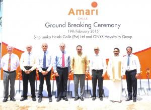 Amari Galle Ground Breaking1