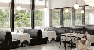 Café Claire at the Oriental Residence Bangkok on Wireless Road, near the Ploenchit BTS station