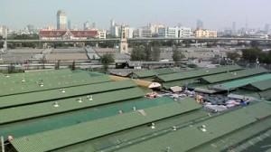 Chatuchak Market from a bird's eye view. Source:  shutterstock.com