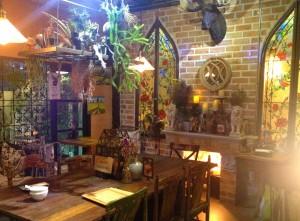 The second floor of B-Story Café & Restaurant, Bangkok