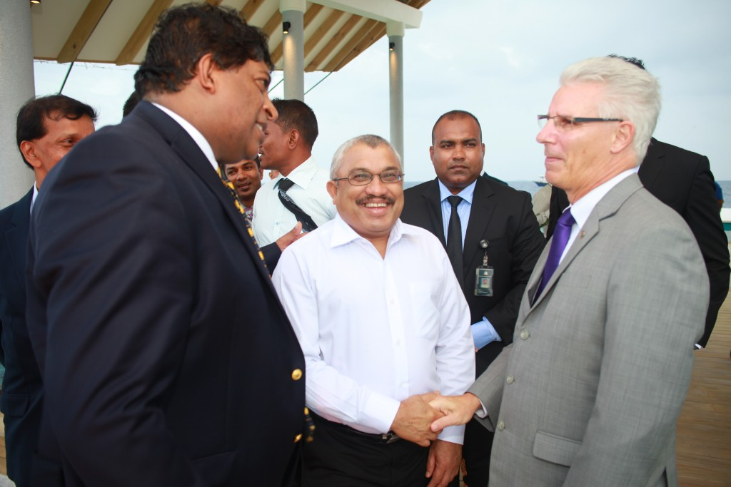 Ministers welcomed by ONYX CEO