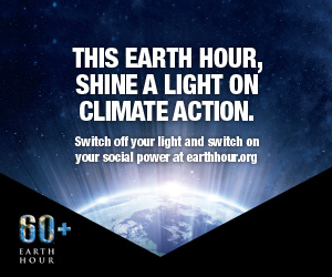Participating in Earth Hour 2016