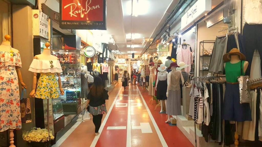 A corridor of Siam Square