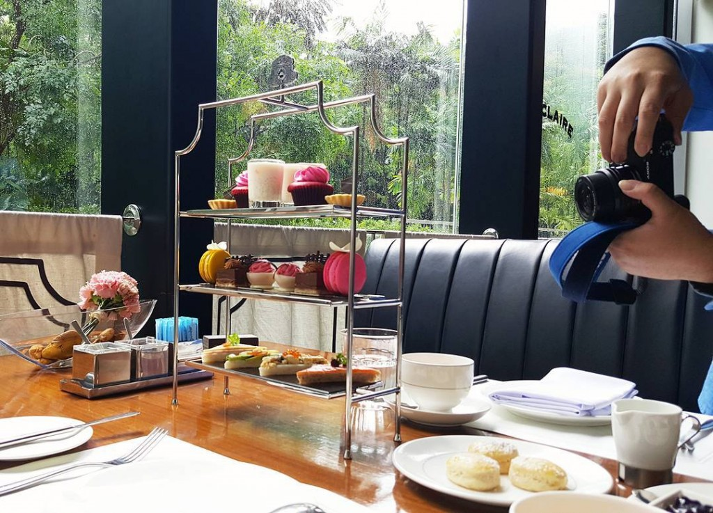 Brand new Afternoon Tea set at Café Claire
