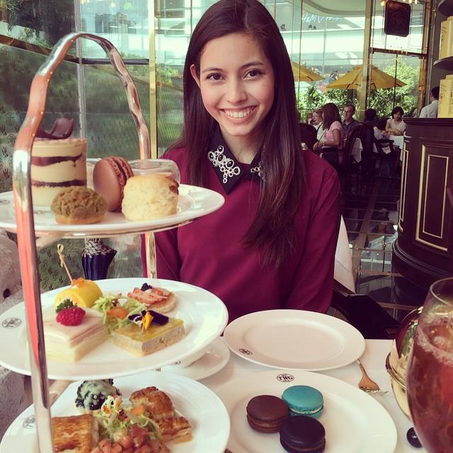 Afternoon Tea set at TWG Bangkok