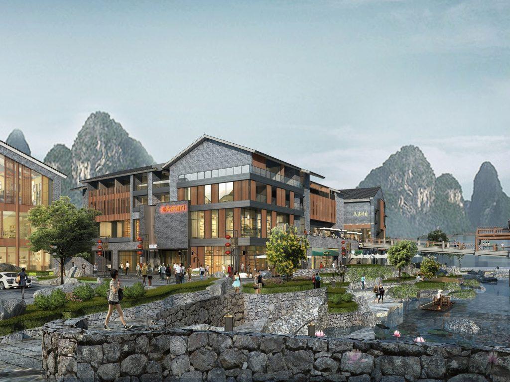 อมารี หยางซั่ว กุ้ยหลิน (ประเทศจีน) เปิดบริการต้นปี 2560