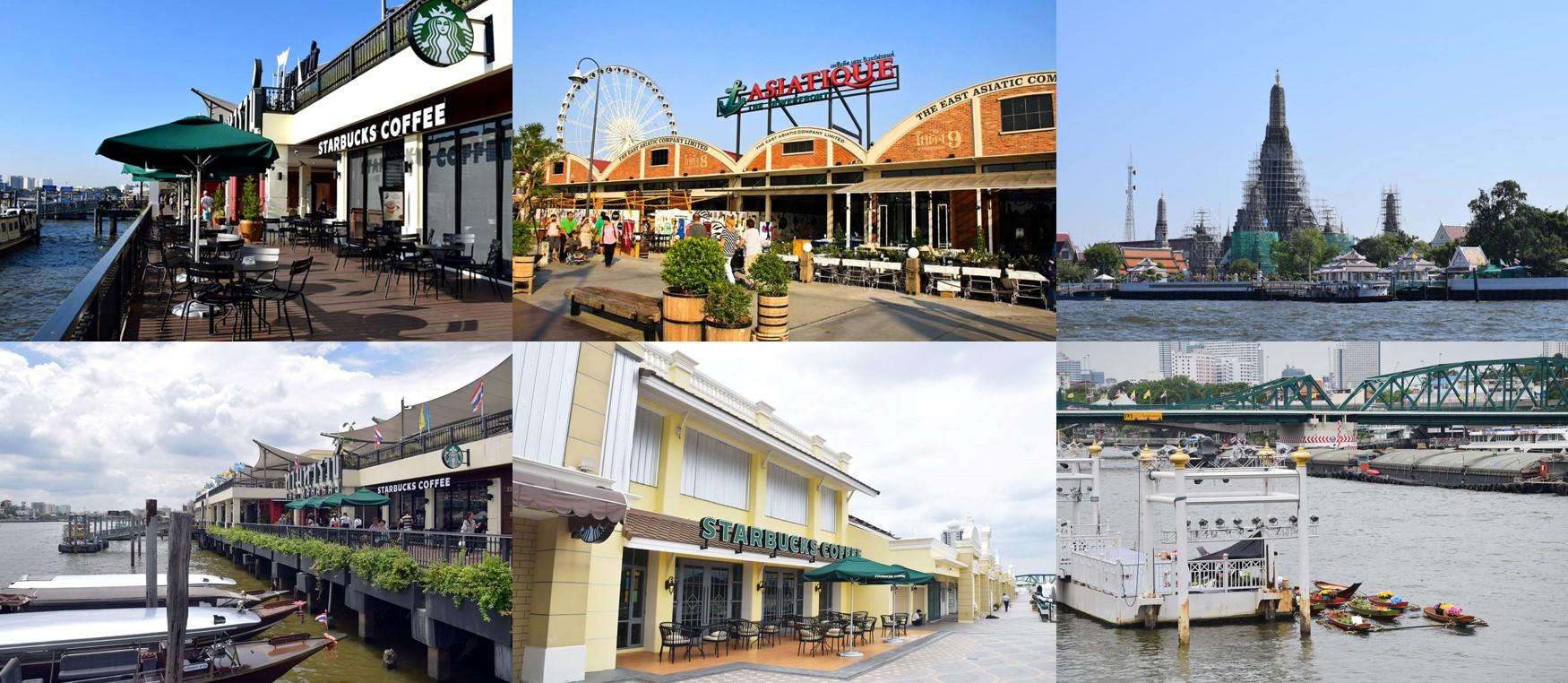 曼谷河畔休閑之處:曼谷也可以很浪漫