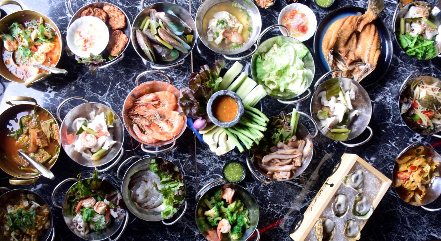 曼谷泰式海鮮自助餐:THB 666任您吃到飽