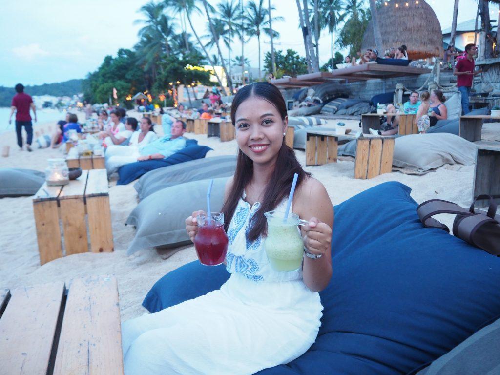 Fay at Beach Bar