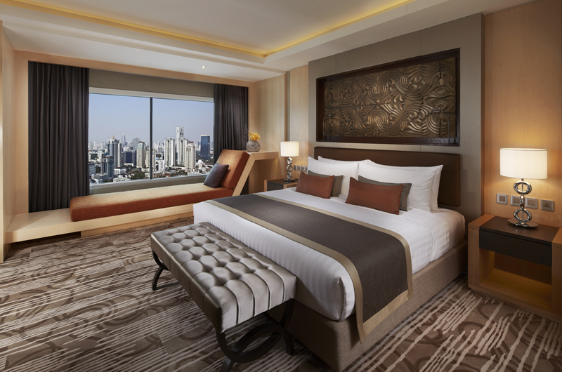 Corner Suite at Amari Watergate Bangkok