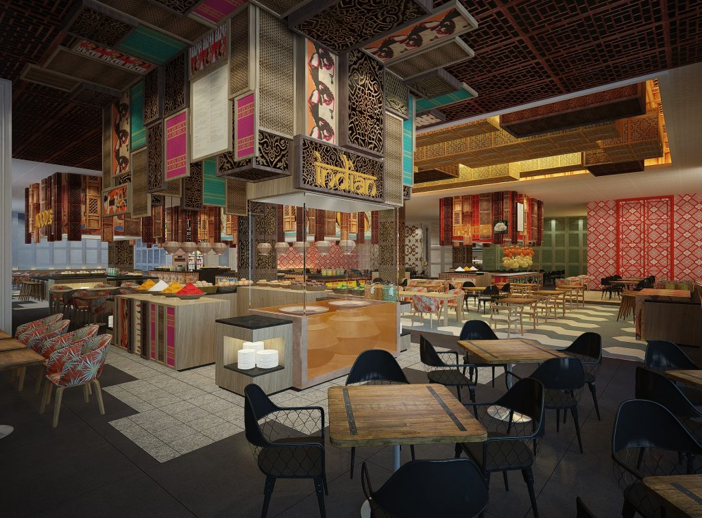 AJM Amaya Food Gallery Rendering