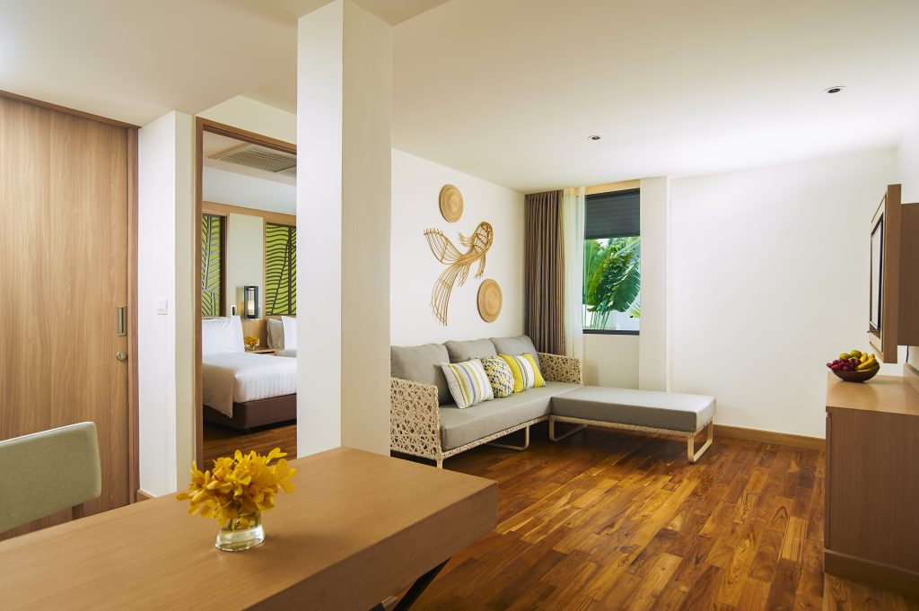 Amari Koh Samui - Two Bedroom Family Suite Pool View Living Area