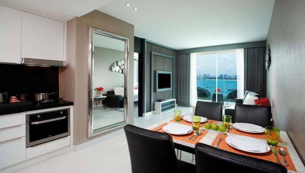 One Bedroom Corner Suite