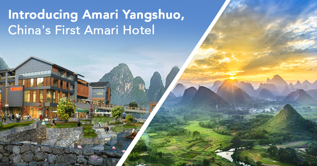 Introducing Amari Yangshuo, China's First Amari Hotel