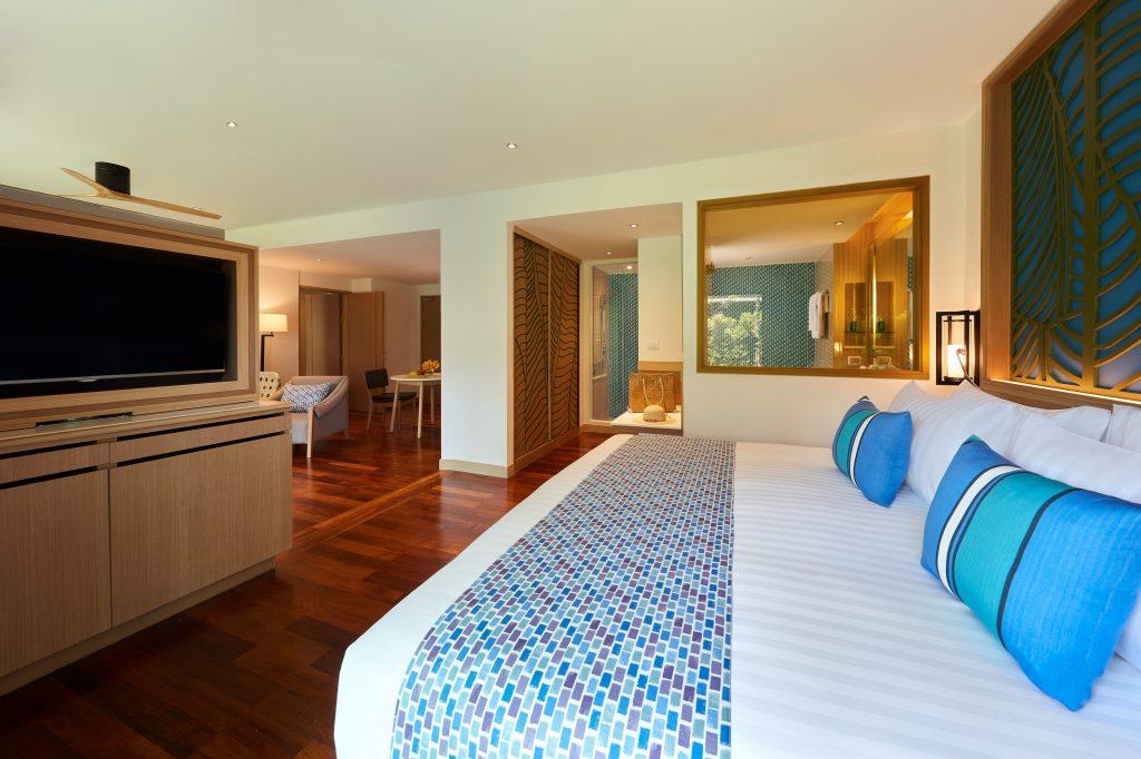 Amari Koh Samui - Junior Suite Beach Wing Main Bedroom 1